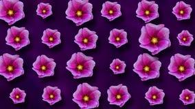 Fondo floral animado del verano hermoso libre illustration