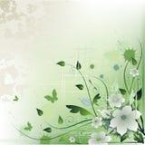 Fondo floral artístico Imagen de archivo