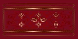 Fondo floral barroco de la textura ilustración del vector