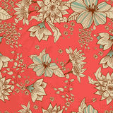 Fondo floral blando inconsútil Imagen de archivo