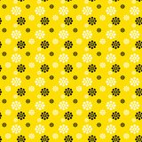 Fondo floral brillante inconsútil stock de ilustración
