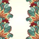 Fondo floral coloreado vector Imágenes de archivo libres de regalías