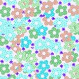 Fondo floral colorido Fotografía de archivo