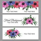 Fondo floral con el lugar para su texto Imagenes de archivo