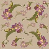 Fondo floral con estilo. Fotografía de archivo libre de regalías