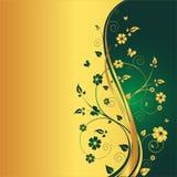 Fondo floral con estilo Imagen de archivo libre de regalías