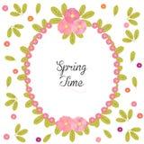 Fondo floral con las peonías - tiempo de primavera Fotos de archivo libres de regalías