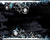 Fondo floral de Grunge Fotografía de archivo libre de regalías