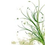 Fondo floral de Grunge ilustración del vector