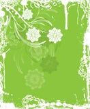 Fondo floral de Grunge, elementos para el diseño, vector Foto de archivo libre de regalías