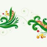 Fondo floral de hadas. Imagen de archivo libre de regalías