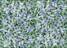 Fondo floral de la acuarela Foto de archivo libre de regalías