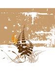 Fondo floral de la arena de Grunge Foto de archivo