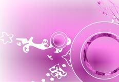 Fondo floral de la lavanda Imagen de archivo libre de regalías