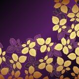 Fondo floral de la lila Foto de archivo libre de regalías