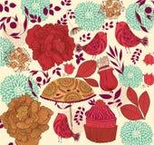 Fondo floral de la manera Imágenes de archivo libres de regalías
