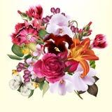 Fondo floral de la moda ilustración del vector