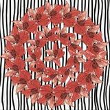 Fondo floral de la primavera abstracta Imágenes de archivo libres de regalías