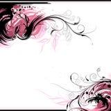 Fondo floral de la tinta libre illustration