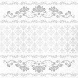 Fondo floral de la vendimia Imagen de archivo