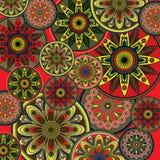 Fondo floral de la vendimia del arte Imagen de archivo libre de regalías