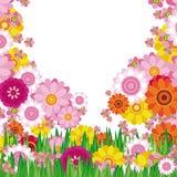 Fondo floral de Pascua Imagen de archivo libre de regalías