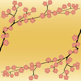 Fondo floral de sakura stock de ilustración
