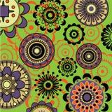 Fondo floral del arte stock de ilustración