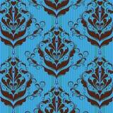 Fondo floral del damasco Imagenes de archivo