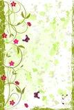 Fondo floral del grunge hermoso Foto de archivo libre de regalías