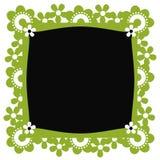 Fondo floral del marco Imagenes de archivo
