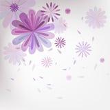 Fondo floral del modelo Fotos de archivo