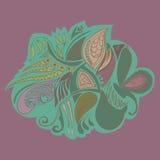 Fondo floral del ornamento abstracto Imagen de archivo libre de regalías