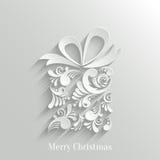 Fondo floral del regalo de Absrtact Foto de archivo libre de regalías