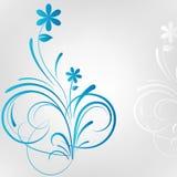 Fondo floral del vector Imagenes de archivo