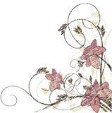 Fondo floral del vector Fotos de archivo