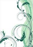 Fondo floral del vector Foto de archivo