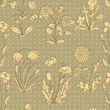 Fondo floral del vintage Imágenes de archivo libres de regalías