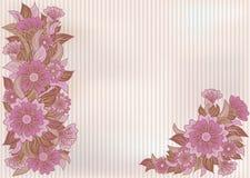 Fondo floral del vintage, vector Fotos de archivo libres de regalías
