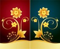 Fondo floral elegante Fotografía de archivo libre de regalías