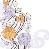 Fondo floral encantador Fotos de archivo