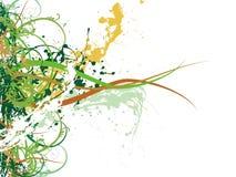 Fondo floral fresco abstracto Fotos de archivo libres de regalías
