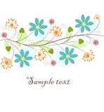 Fondo floral hermoso Fotografía de archivo