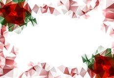 Fondo floral hermoso de la Navidad imágenes de archivo libres de regalías