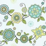 Fondo floral inconsútil Imagen de archivo libre de regalías