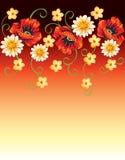 Fondo floral inconsútil Imagen de archivo