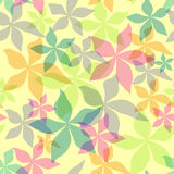 Fondo floral inconsútil abstracto stock de ilustración