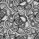 Fondo floral inconsútil con las flores abstractas ilustración del vector