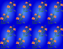 Fondo floral inconsútil del modelo Foto de archivo