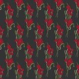 Fondo floral inconsútil del vector Imagen de archivo libre de regalías